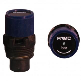 Ariston - Blue Rubber Seat Pressure Relief Expansion Cartridge 6 bar