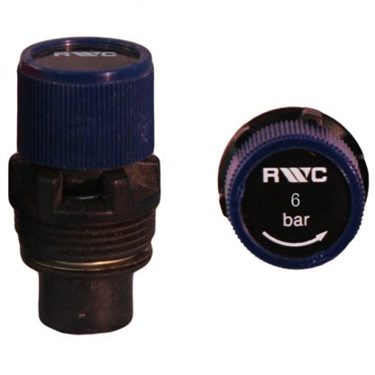 Chaffoteaux et Maury - 6 Bar Blue Rubber Seat Pressure Relief Expansion Cartridge