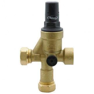 Chaffoteaux et Maury - 3 Port Pre-Set & Locked Pressure Reducing Valve