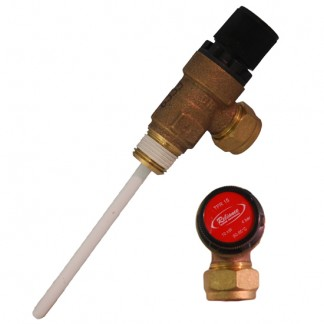 Gledhill - 4 Bar Pressure & Temperature Relief Valve XG152