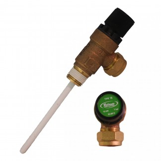 "GAH - 7 Bar 1/2"" Pressure & Temperature Relief Valve TPRV"