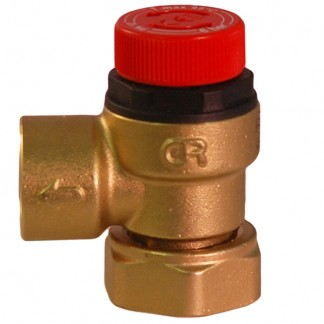 RM Cylinders - 6 Bar Pressure Relief c/w Loose Nut Connection