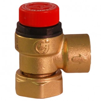Range - 6 Bar Pressure Relief c/w Loose Nut Connection