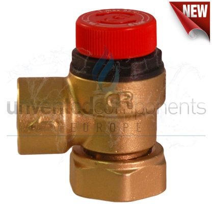 UV Gold - 6 Bar Pressure Relief - Loose Nut Connection