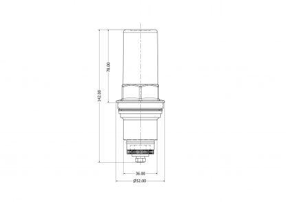 Heatrae Sadia - 3 Bar Pressure Reducing Valve Cartridge 95605824