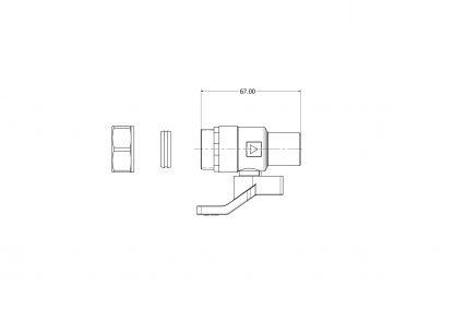 Heatrae Sadia - Megaflo Cold Water Combination Valve 95605021 95605029
