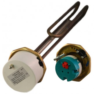 """Thermco - 1"""" 3/4"""" 3kW Immersion Heater 14"""" for Unvented Cylinders"""