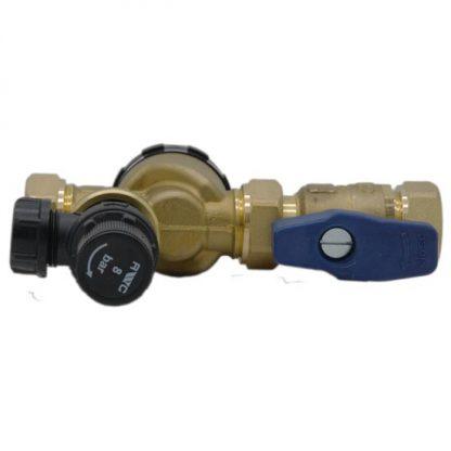 Heatrae Sadia - Multibloc Control Valve with Pressure Relief Valve 95605869