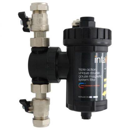 Intaklean 2 - 22mm Central Heating Magnetic Filter IK2MF22 (Like Fernox TF1)