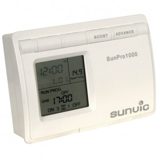 Sunvic - Sunpro 1000 Single Channel 7 Day 5/2 Day 24Hr Programmer