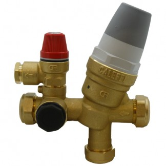 Warmflow - 22mm Inlet Control Multibloc Valve Group 3664