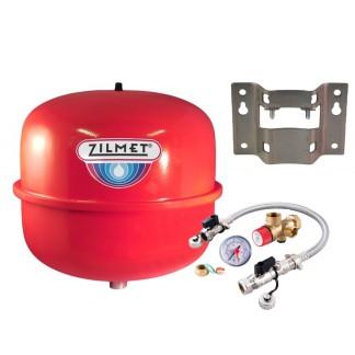 Zilmet - 12 Litre Heating Expansion Vessel & Sealed System Kit Z1-301012