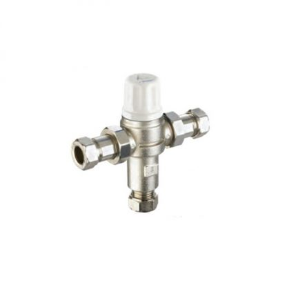 Reliance - 15mm Heatguard Dual TMV2/3 2 in 1 Thermostatic Mixing Valve 110614