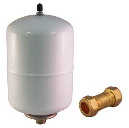 Heatrae Sadia - Expansion Vessel & Non Return Valve Unvented Water Heater U5 Pack 5