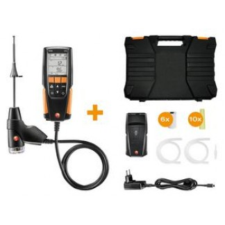 Testo 310 entry level flue gas analyser with pressure measurement printer kit