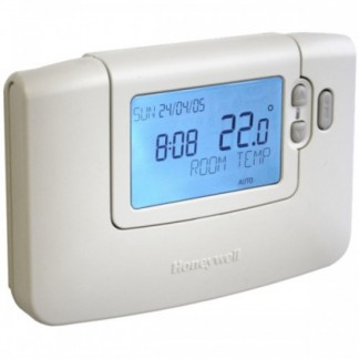 Honeywell - 7-Day Programmable Hard Wired Room Stat CMT907A1041