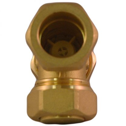 Heatrae Sadia - 22mm Tee With Non Return Valve 95605041 95605880