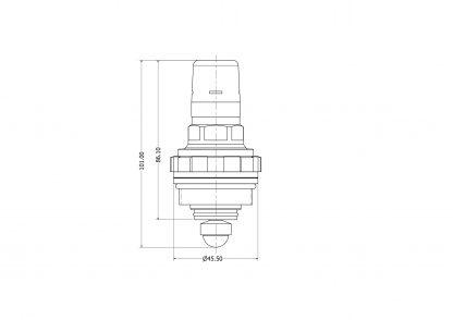 Heatrae Sadia - 3 Bar Pressure Reducer Cartridge Only 95605891