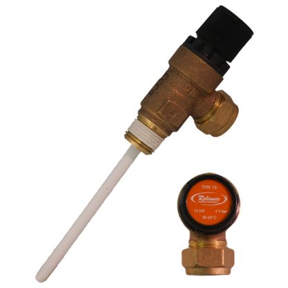 Reliance - 4.5 Bar TPR15 Pressure and Temperature Relief Valve 90-95°C