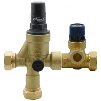 Reliance - 3 Bar Reducing 8 Bar Relief Inlet Control Multibloc 2 Piece Valve