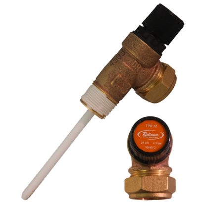 Reliance - 4.5 Bar TPR22 Pressure and Temperature Relief Valve 90-95°C