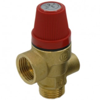 Vaillant - 3 Bar Pressure Relief Valve 190728