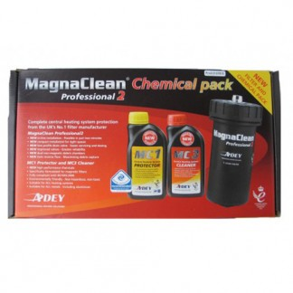Adey - MagnaClean Professional 2 Chemical and Filters Pack 22mm Black