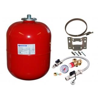 Reliance - Aquasystem 18 Litre Heating Expansion Vessel & Sealed System Kit VESK209052