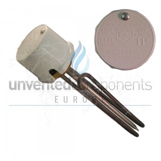 """Unvented Immersion Heater 1.5"""" Boss"""