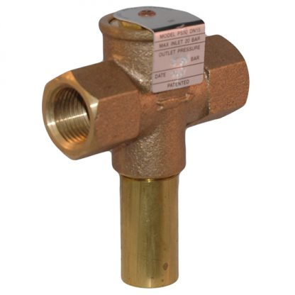 """Reliance - 3.5 Bar 1/2"""" Pressure Reducing Limiting Valve PS50"""