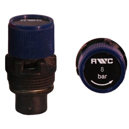 Heatrae Sadia - Electromax Pressure Relief Cartridge 8 Bar 95605870