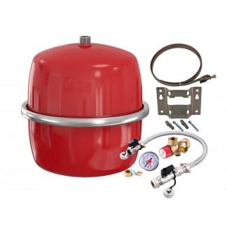 Flamco - Flexcon Heating Expansion Vessel 12 Litre & Sealed System Kit/Bracket FCST 012
