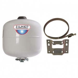 Zilmet - 12 Litre Potable Expansion Vessel & Bracket 11H0001202