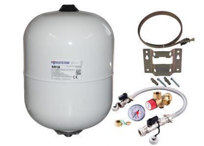 Reliance - Aquasystem 18 Litre Potable Expansion Vessel & Sealed System Kit XVES050050