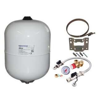 Reliance - Aquasystem 24 Litre Potable Expansion Vessel & Sealed System Kit XVES050060