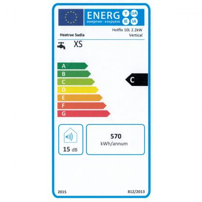 Heatrae Sadia - Hotflo 10 Litre Instant Water Heater 50148