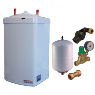 Heatrae Sadia - Hotflo 10 Litre Instant Water Heater 50148 & Unvented Kit C