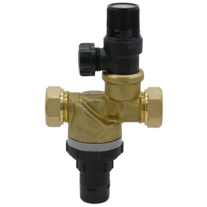Shown with Multibloc Cold Water Control/Combination Valve