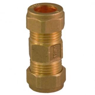 15mm Brass Check Valve Non Return WRAS Approved EN1254-2 Compression
