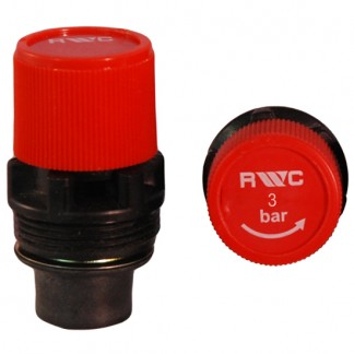 Reliance - 3 Bar Red 2116 Pressure Relief Cartridge ZRC214043