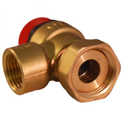 "Caleffi - 6 Bar Pressure Relief Valve 3/4"" Loose Nut to 1/2"" BSP 311501"