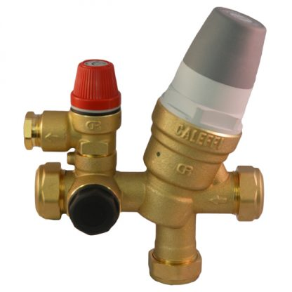 compatible with Caleffi - 2/3 Bar 22mm Inlet Control Multibloc Valve Group