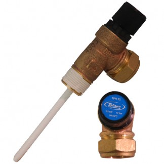 Baxi Potterton - Tribune Temperature & Pressure Relief Valve S6223