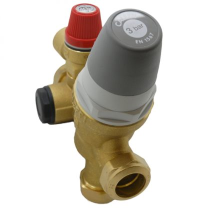 Caleffi - 2/3 Bar 22mm Inlet Control Multibloc Valve Group