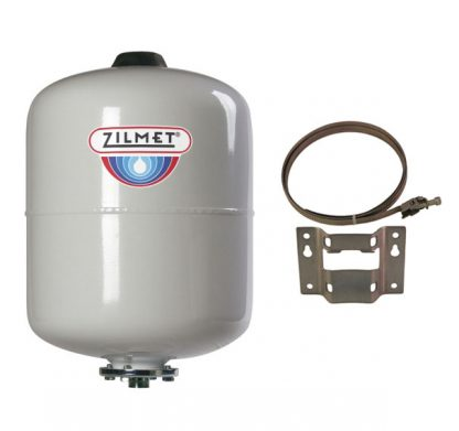 Zilmet - 8 Litre Potable Expansion Vessel & Bracket 11H0000803