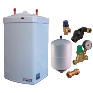 Heatrae Sadia - Hotflo 10 Litre Instant Water Heater 50148 & Unvented Kit D