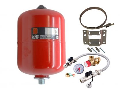 Altecnic - ERES 8 Litre Heating Expansion Vessel & Sealed System Kit ER-08LTVESS