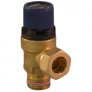 "Reliance - 3 Bar Pressure Relief Valve 1/2"" MBSP x 15mm"