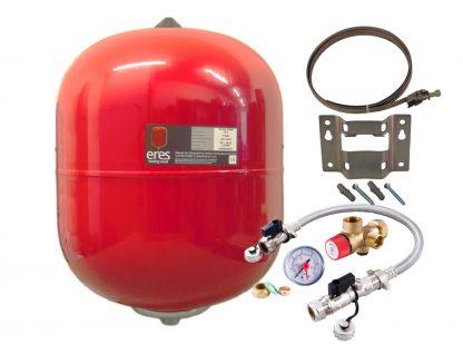 Altecnic - ERES 24 Litre Heating Expansion Vessel & Sealed System Kit ER-24LTVESS