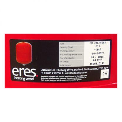 Altecnic - ERES 24 Litre Heating Expansion Vessel ER-24LTVESS